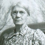 Photo of Kate Emeline (Harrell) Clark, circa 1935